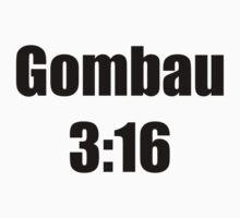 Gombau 3:16 Red/White by KVKVKV