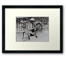 Discarded Framed Print