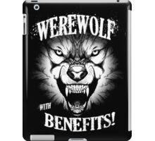 Werewolf with benefits! iPad Case/Skin