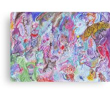 Economy: the forex trader's nightmare Canvas Print