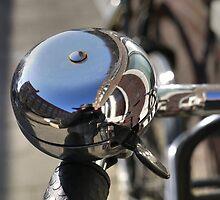 Big bike bell (and me) by Marjolein Katsma