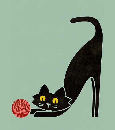 The curious cat by Budi Kwan