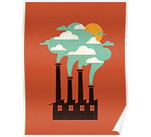 The cloud factory Poster