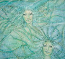Healing water spirits by Lilaviolet