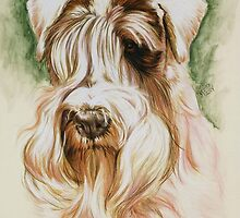 Sealyham Terrier by BarbBarcikKeith