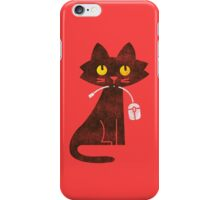 Hungry Hungry Cat iPhone Case/Skin