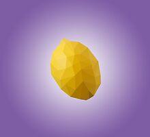 Polygon Lemon by scarriebarrie