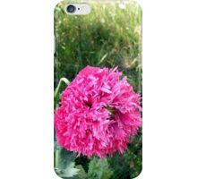 Opium Poppy decorates the demolition area iPhone Case/Skin