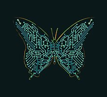 Mechanical Butterfly by Budi Kwan