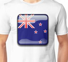 New Zealand Flag Icon Unisex T-Shirt