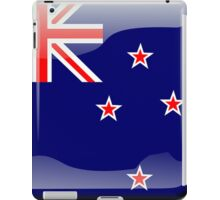 New Zealand Flag Icon iPad Case/Skin