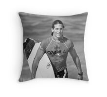 Andy Irons At O'Neill World Cup of Surfing 06 Throw Pillow