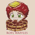 ROFL WAFFLES by Kuroitenshi
