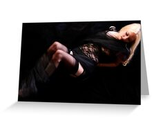 Bound and Caressed Greeting Card