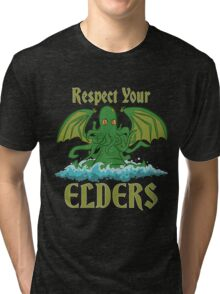 Respect Your Elders Tri-blend T-Shirt