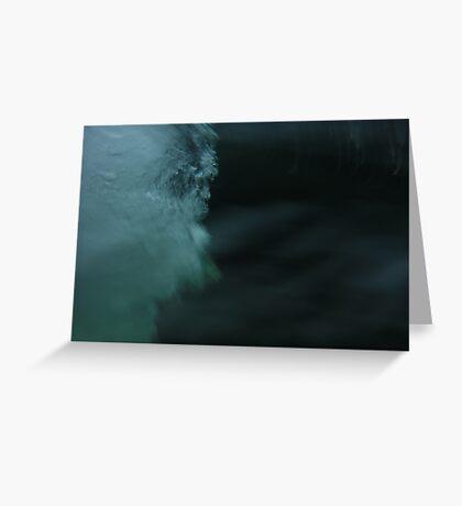 Water Rush Greeting Card
