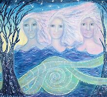 The ghosts of the sacred snakes by Lilaviolet