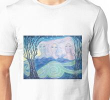 The ghosts of the sacred snakes Unisex T-Shirt