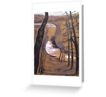 'Bend In The River' Greeting Card