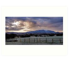 Wrekin View Art Print