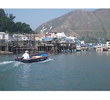 Tai O Stilts Photographic Print