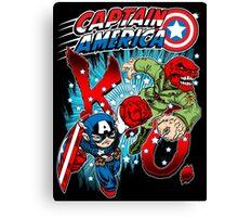 Captain K.O.! Canvas Print