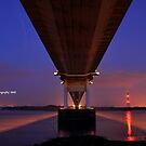 Under The Severn Bridge by Kevin Cotterell