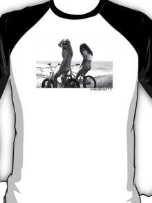 VNDERFIFTY NAKED BMX GIRL T-Shirt