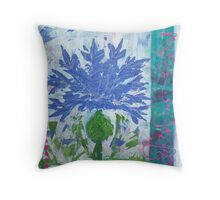 Kornblume | Bluebottle Throw Pillow