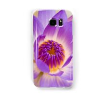 Shining Thru - purple waterlilly Samsung Galaxy Case/Skin
