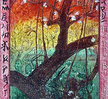 """Van Gogh's Copie """"Japonaiserie: Trees in Bloom"""" par Moi by RoyAllen Hunt"""