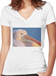 Resident at St James's Park Women's Fitted V-Neck T-Shirt