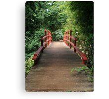 Japanese Bridge Canvas Print