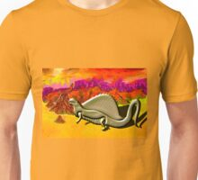 Dimetrodon of the Sphenacodontidae family Unisex T-Shirt