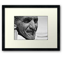 Desert  face Framed Print