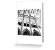 Church Interior Greeting Card