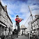 Violinist by Zuzana D Photography