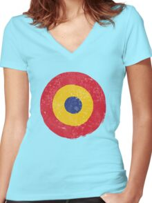 Mod No.3 Women's Fitted V-Neck T-Shirt