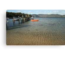 Quiet Afternoon-Safety Cove Canvas Print