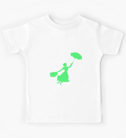 Green Miss Poppins  Kids Tee