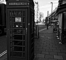 English Red Phone Box by BritishYank