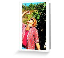 wine-tasting Greeting Card
