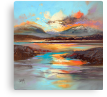 Glen Spean Light Canvas Print