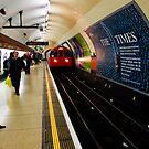 Charing Cross Underground by Gary Freeman