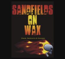Sandfields on Wax Sheds, Bedrooms & Garages T-Shirt by jay007