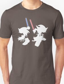 Hedgehogs with lightsabers  T-Shirt
