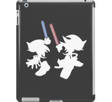 Hedgehogs with lightsabers  iPad Case/Skin