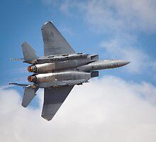 F-15E full burner by Chris Heising