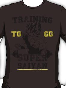 TRAINING TO GO SUPER SAIYAN (new) T-Shirt