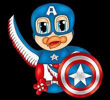 Captain America Bird by beaston